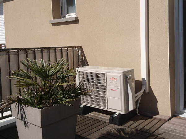 Climatisation chambre villa