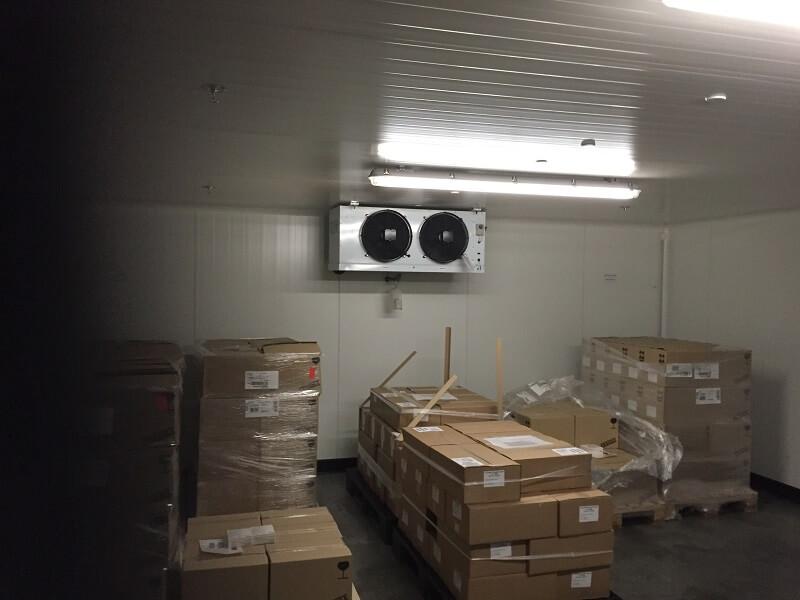 eurofroid climatisation - chambre froide positive laboratoire Aguettant santé